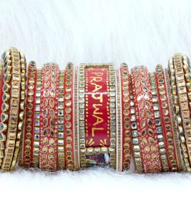 Suhag Bridal bangles set | Personalised | Photo | | Name | design 21