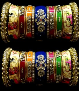Rajasthani Rajwadi suhag churha Rajputi bridal bangle set