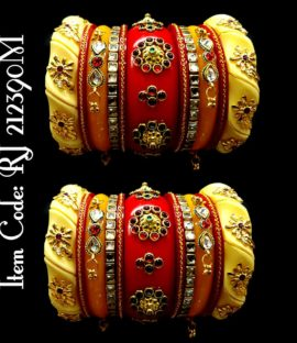 Rajwadi dulhan chooda set Rajasthani Rajputi bridal bangle set