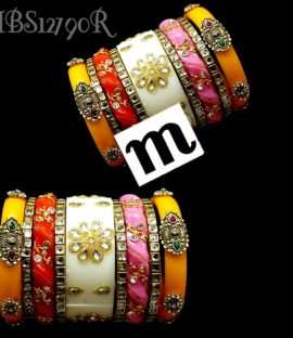 Roral Rajputi suhag chura Rajwadi bridal bangle set