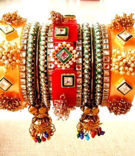 Rajputi Dulhan chuda Special Beautiful Royal Rajwadi Bridal Chura