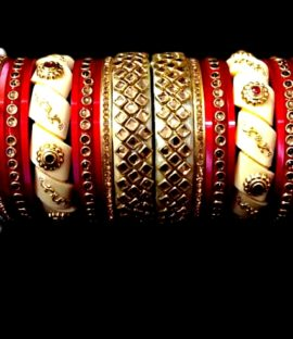 Rajasthani Rajputi suhag chuda Rajwadi bridal bangle set