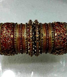 Rajasthani Rajwadi Dulhan choorha Rajwadi bridal bangle set