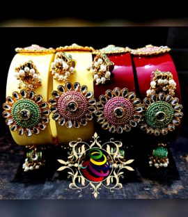 Rajputi Bridal bangle pairs