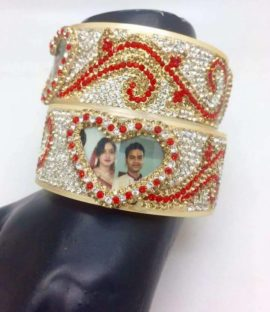 Heart Shape designed Personalized Kada