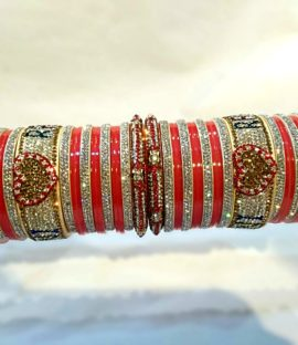 Punjabi Bridal Bangles Set With Name Personalized bridal Bangles
