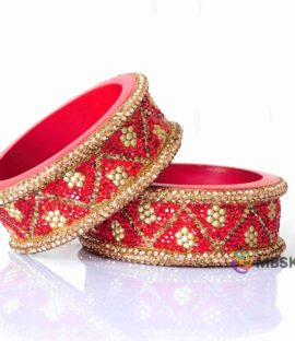 Lakh Bridal Bangle Pair