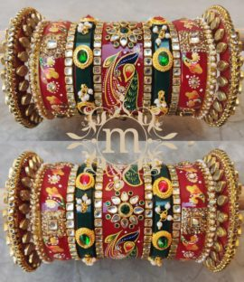 Bridal Chura Latest Bridal Bangles Design