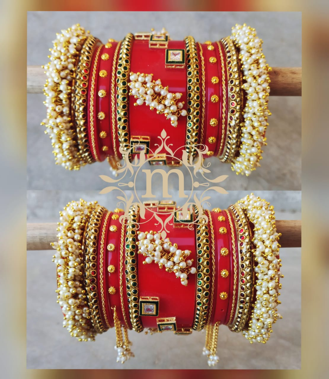 Latest Bridal Chura Design