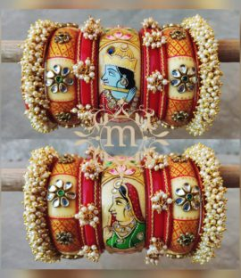 Rajasthani Wedding Chura, Rajasthani Bridal Bangles Latest Designs