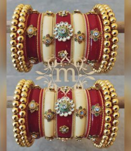 Beautiful Rajasthani Chura Latest Rajasthani Bangles Designs