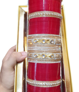 Bridal Chuda,Wedding Chuda,Punjabi Chuda Design-(71)