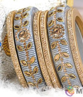Rajasthani Lakh Wedding Bangle Set