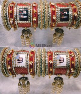 Rajwadi bridal bangle